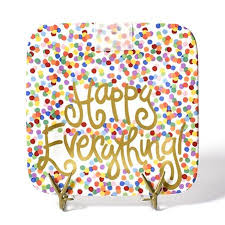 happy everything plate happy everything mini platter ye peddler gift shoppe
