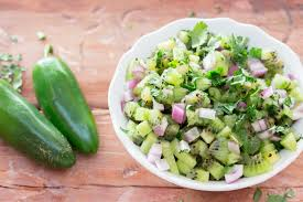 cuisine salsa simple kiwi salsa jerry