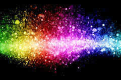 rainbow of lights royalty free stock photos image 31908698