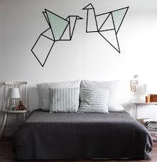 dessin mural chambre décoration murale avec masking en 25 idées fantastiques