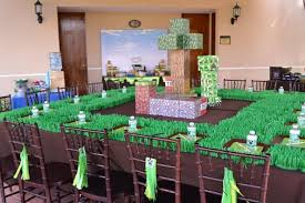 minecraft party decorations minecraft themed party favors home party theme ideas