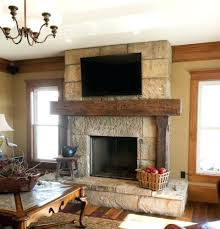 Distressed Wood Fireplace Surround Pleasing Hand Hewn Timber Reclaimed Wood Fireplace Mantle Wisconsin