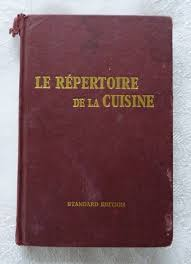 cuisine reference le repertoire de la cuisine the cookery repertory l saulnier tr