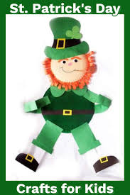 Fun Crafts For Kids To Do 35 St Patrick U0027s Day Crafts For Kids Easy St Paddy U0027s Day Craft