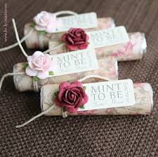 personalized wedding favors personalized wedding favors floral wedding favors mint to b
