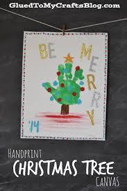 handprint u0026 footprint christmas canvas ideas handprint christmas