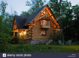 log home styles 2003 built cottage style residential log home with a brown asphalt
