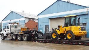 transporting your equipment mcclung logan equipment company inc