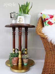 vintage clover leaf table makeover robb restyle