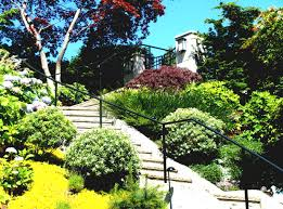 backyard slope landscaping ideas landscaping ideas on a hill slope hill landscaping ideas for