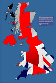 maps of the uk