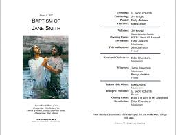 Church Programs Templates Lds Baptism Program Template Laytreasuresinheaven