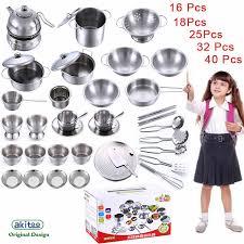 batterie cuisine en 16 25 32 40 pcs dollhouse miniature cuisine cuisine batterie de