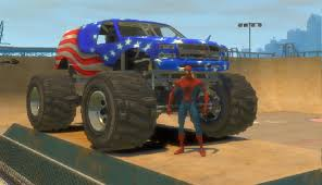 monster truck cartoon videos amazing monster truck for children and toddlers spiderman cartoon