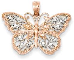 butterfly jewelry necklace images New gold butterfly jewelry has fluttered in jpg