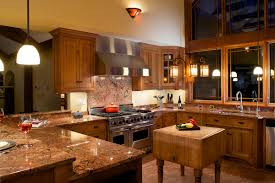 killer u shape kitchen craftsman style home interior decoration