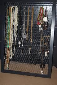Jewelry Wall Hanger Diy Jewelry Frame Stacy Averette