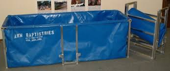 portable baptismal pools collapsible portable baptistries arm prison outreach