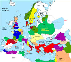 Map Of Europe 1500 by A Map Of Europe In 1200 History Pinterest History European