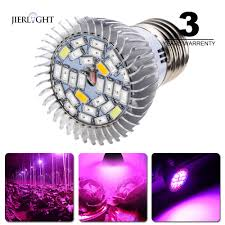 Full Spectrum Led Grow Lights 5pcs Full Spectrum Grow Light E27 Led Growing Plants Grow Lamp