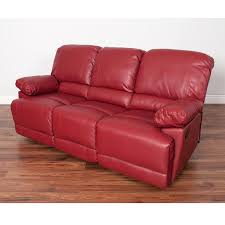 Red Recliner Sofa Red Reclining Sofa Microfiber Set Leather Gel Match And Loveseat