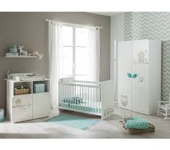 hibou chambre bébé lit bébé 60x120 cm hiboux blanc lits but