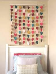 wall ideas easy homemade wall decoration ideas cool and simple