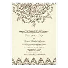 henna invitation henna invitation zazzle