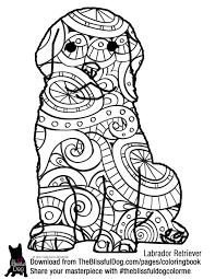 coloring book labrador retriever labradors dog