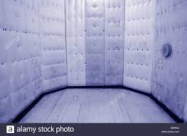 empty padded cell concept photo of psychiatric hospital mental