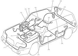 2004 subaru forester wiring harness schematic diagram