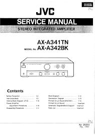 jvc axa341tn service manual immediate download