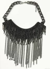 black large necklace images 2018 large aldo chain statement necklace black chain sead beads jpg