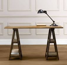 Diy Rustic Desk by Metal Sawhorse Desk Sawhorse Desk Ideas Best Home Furniture