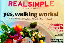 Real Simple Magazine by Yes Walking Works