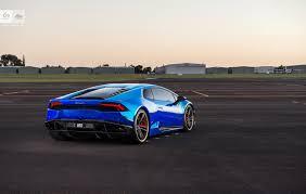 Lamborghini Huracan Liberty Walk - stunning blue chrome lamborghini huracan by sunus motorsport