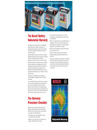 bosch technical manual for lab battery electricity battery