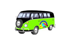 volkswagen van art pacman camper van clip art at clker com vector clip art online