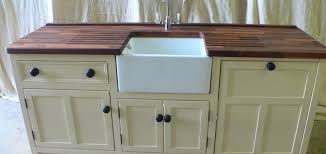 Belfast Sink Unit With Integrated Dishwasher Unit The Olive - Kitchen with belfast sink