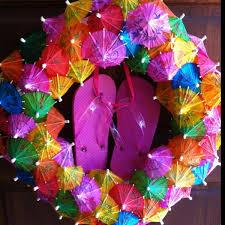 flip flop wreath 10 diy flip flop wreath decorating ideas hative