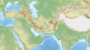 Map Middle East by File Middle East Topographic Map Png Wikimedia Commons