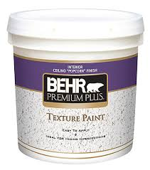 How To Texture A Ceiling With Paint - behr premium plus premium plus texture paint ceiling popcorn