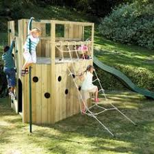 How To Build A Backyard Fort by 25 Free Backyard Playground Plans For Kids Playsets Swingsets