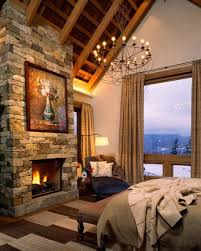 chambre montagne l esprit montagne reflété dans une chambre rustique design feria