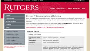 rutgers resume how to write a better c level marketing resume content examples