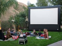 Backyard Theater Ideas Diy Backyard Theater Ideas For Outdoor Screen