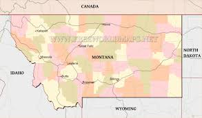 Map Of Montana by Montana Maps