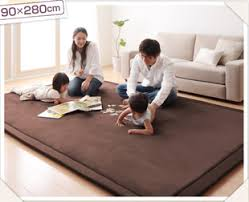 Thick Area Rugs Ultrafine Fiber Thick Carpet Slip Resistant Crawling Carpet Baby