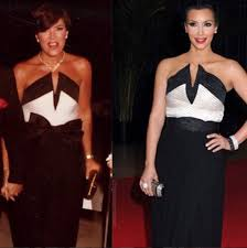 11 times kim kardashian and kris jenner wore the exact same thing