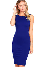 chic royal blue dress midi dress backless dress 39 00